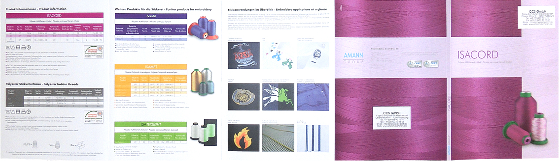 Stickereibedarf Colorcolor Chartisacordamanncolor Overview